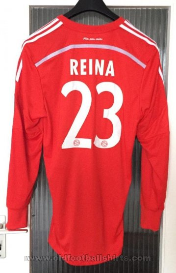 Bayern Munich Goalkeeper football shirt 2014 - 2015
