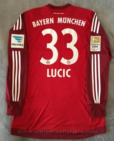 Bayern Munich Goalkeeper football shirt 2015 - 2016