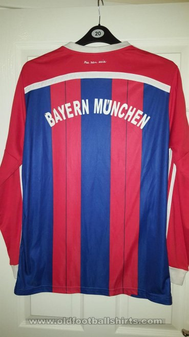 Bayern Munich Retro Replicas football shirt 2014 - ?