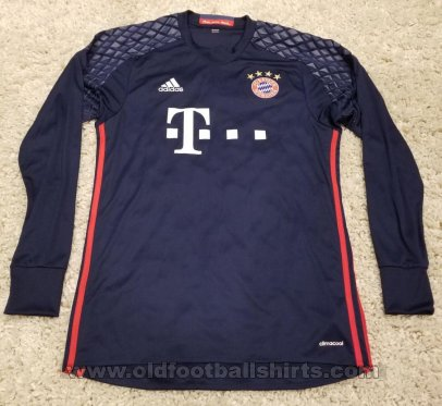 Bayern Munich Goalkeeper football shirt 2016 - 2017