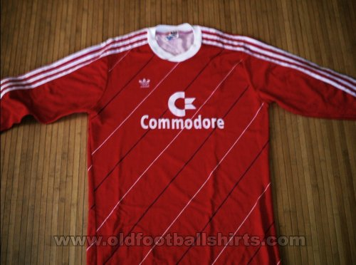 Bayern Munich Home football shirt 1985 - 1986