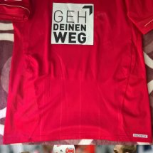 Bayern Munich Home football shirt 2012 - 2013 sponsored by Geh Deinen Weg