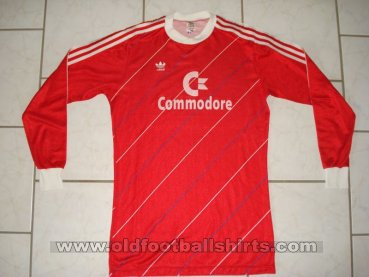 Bayern Munich Home футболка 1985 - 1986