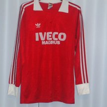 Bayern Munich Home football shirt 1981 - 1983 sponsored by Iveco Magirus
