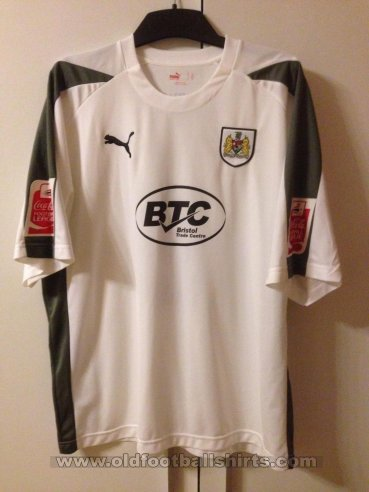 Bristol City Away football shirt 2006 - 2007