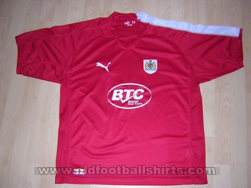 Bristol City Local Camiseta de Fútbol 2006 - 2007