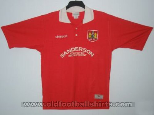 Bristol City Home baju bolasepak 1998 - 1999