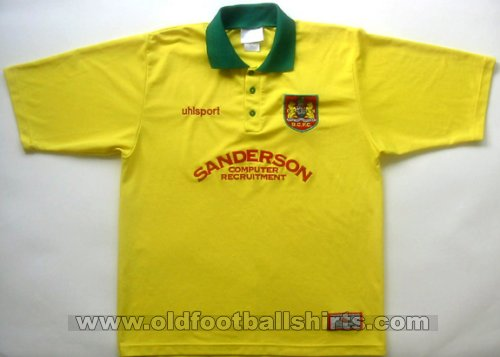 Bristol City Away baju bolasepak 1998 - 1999