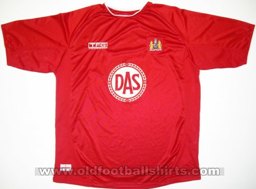 Bristol City Home voetbalshirt  2004 - 2005
