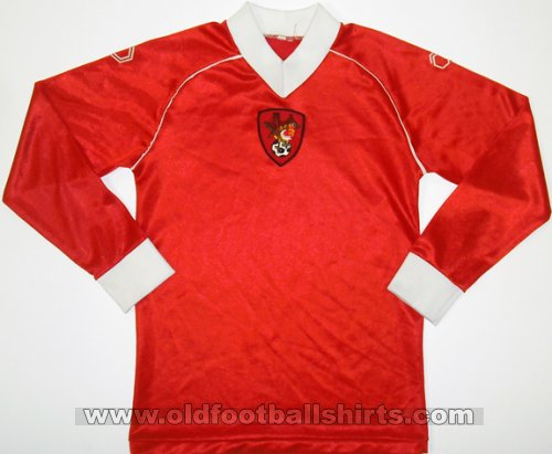 Bristol City Local Camiseta de Fútbol 1982 - 1983