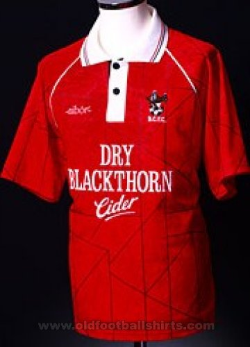 Bristol City Home football shirt 1993 - 1994