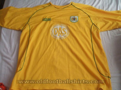 Bristol City Away football shirt 2002 - 2003