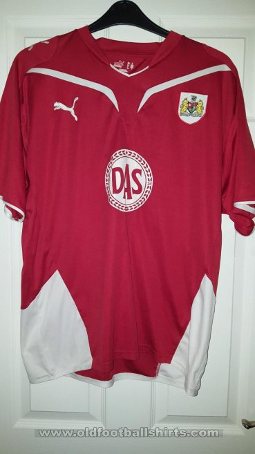 Bristol City Home baju bolasepak 2009 - 2010