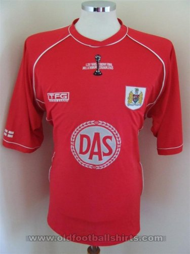 Bristol City Cup Shirt football shirt 2002 - 2003