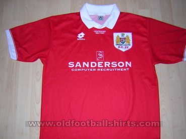 Bristol City Local Camiseta de Fútbol 1996 - 1997