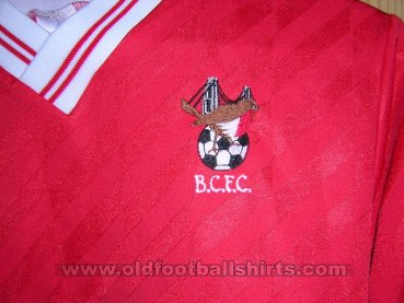 Bristol City Local Camiseta de Fútbol 1986 - 1988