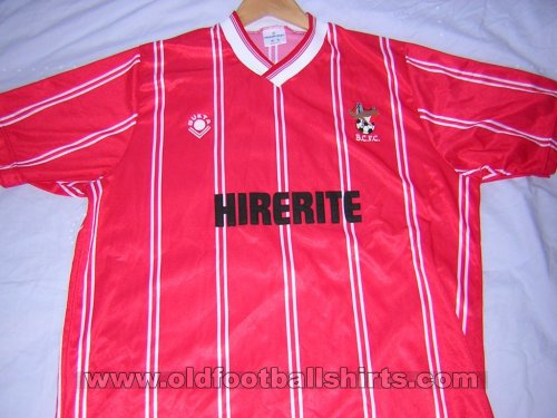 Bristol City Home football shirt 1988 - 1990