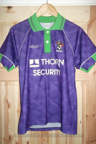 Bristol City Away Camiseta de Fútbol 1992 - 1993