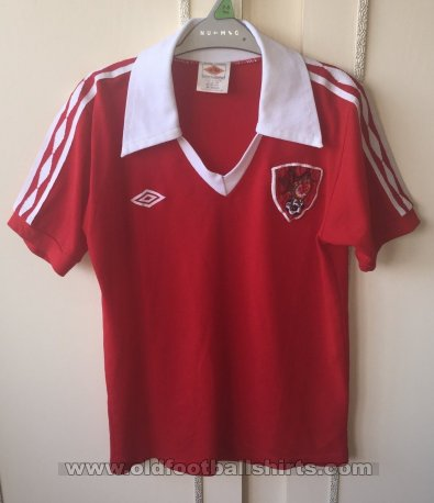 Bristol City Home baju bolasepak 1976 - 1981