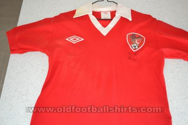 Bristol City Home baju bolasepak 1983 - 1984