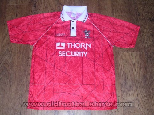 Bristol City Local Camiseta de Fútbol 1992 - 1993