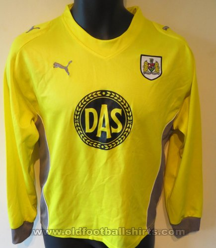 Bristol City Keeper  voetbalshirt  2009 - 2010