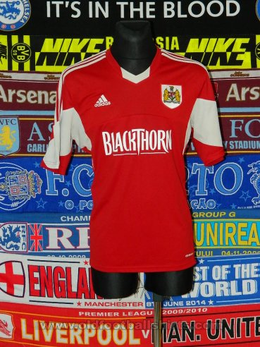 Bristol City Home voetbalshirt  2013 - 2014