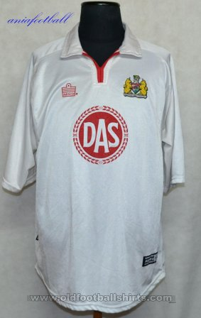 Bristol City Away voetbalshirt  2001 - 2002