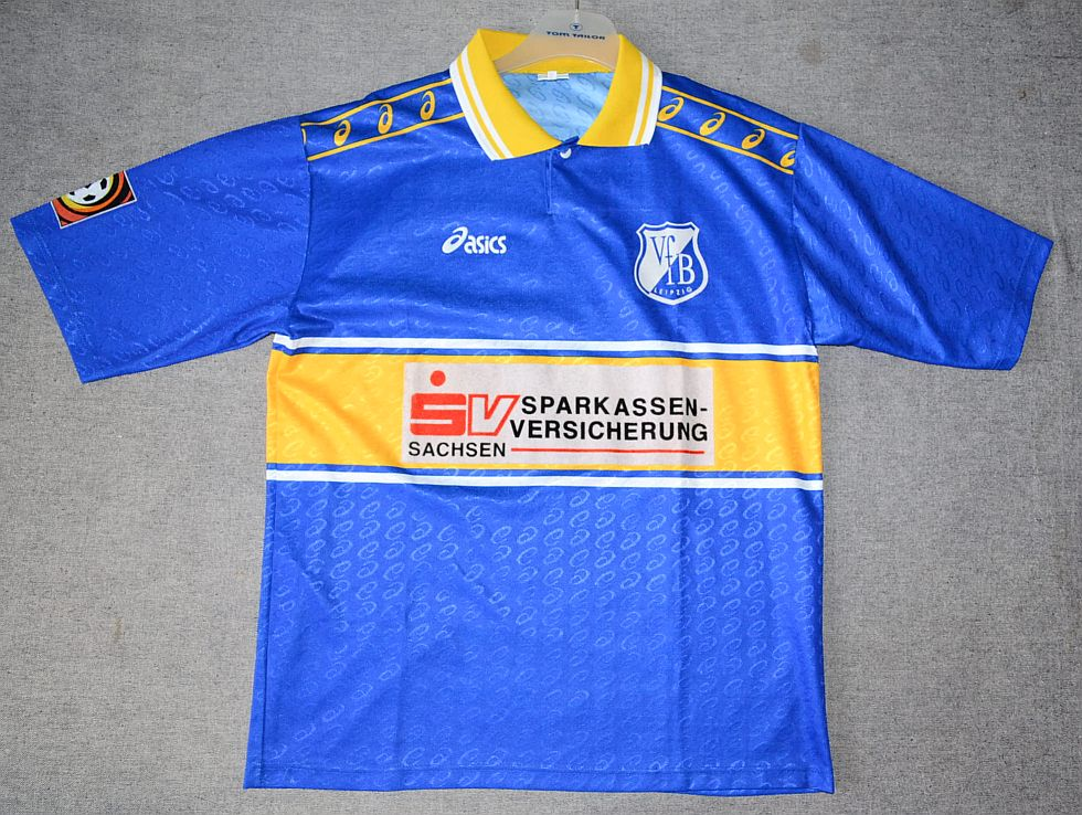 ebc20efd8ffa VfB Leipzig Home football shirt 1996 - 1997.