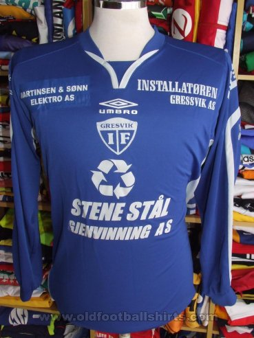 Gresvik IF Home football shirt (unknown year)