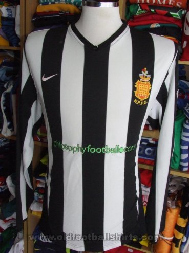Harwich & Parkeston FC Home maglia di calcio (unknown year)