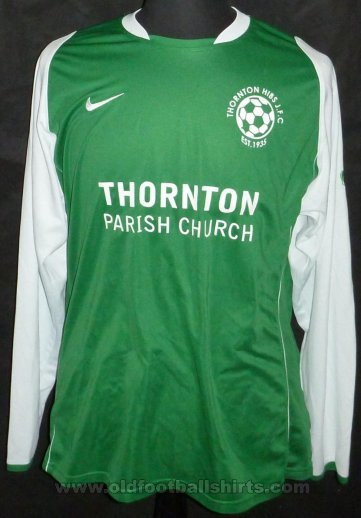 Thornton Hibs Home football shirt 2010 - 2011