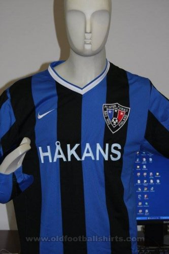 Inter Turku Home baju bolasepak 2007 - 2008