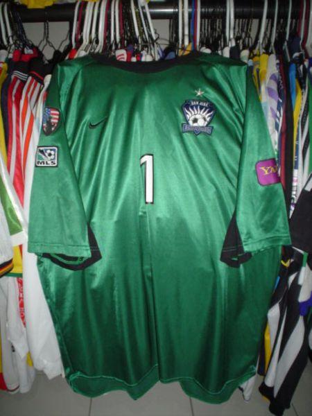 superior quality 36ab5 e7793 San Jose Earthquakes Goalkeeper fotbollströja 2002 - 2003.