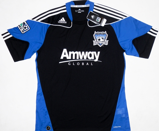 promo code d10c4 c0540 San Jose Earthquakes Home football shirt 2010 - 2011.