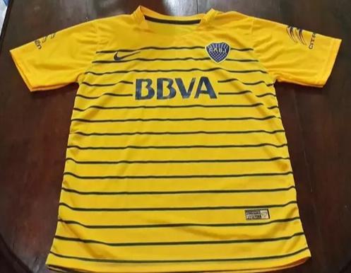 4cd8a1182e702 Boca Juniors Away Camiseta de Fútbol 2015 - 2016.