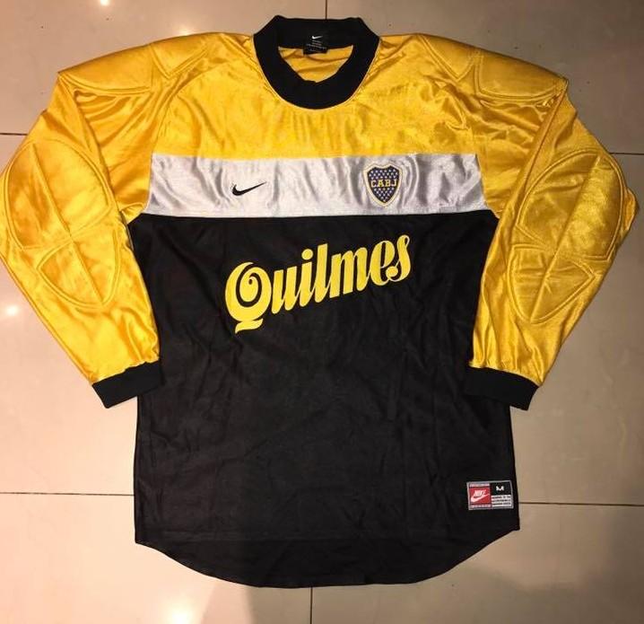 7aa2445eb Boca Juniors Goalkeeper Maillot de foot 2000.