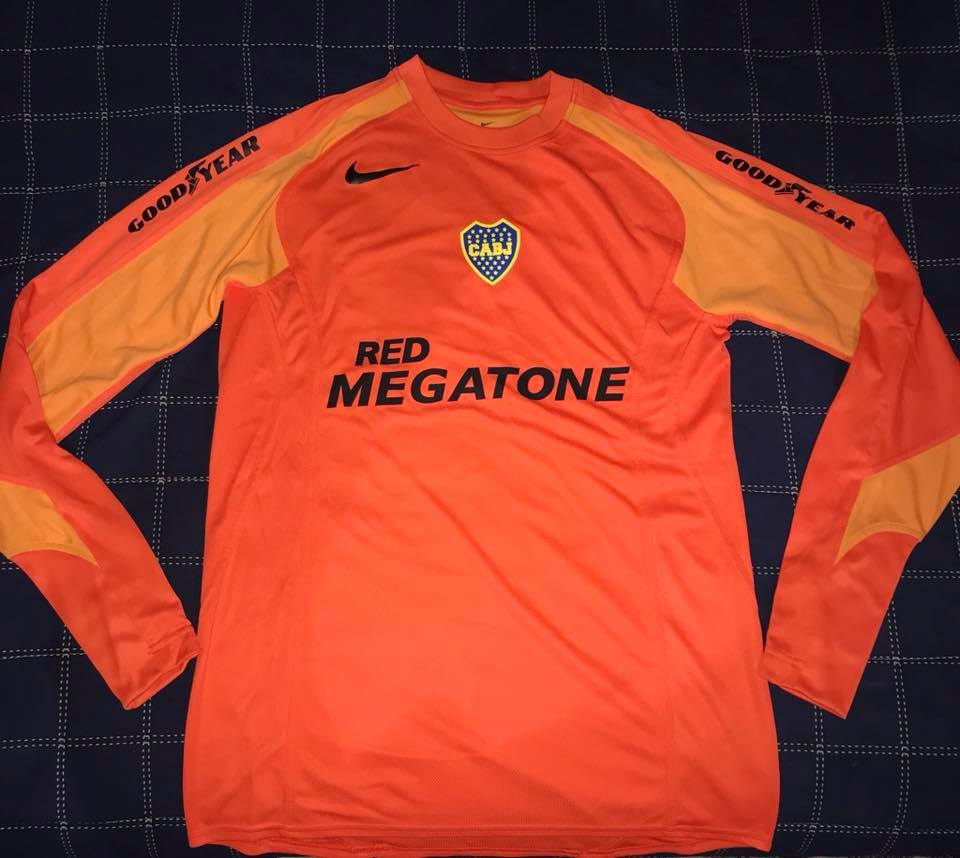 4dbd42260 Boca Juniors Goalkeeper Maillot de foot 2005.