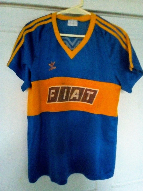 21e99909bdbd2 Boca Juniors Home Maillot de foot 1989.
