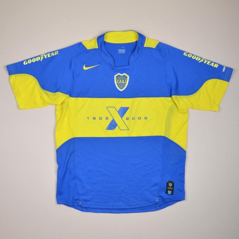 e5a1afeac Boca Juniors Home baju bolasepak 2005.