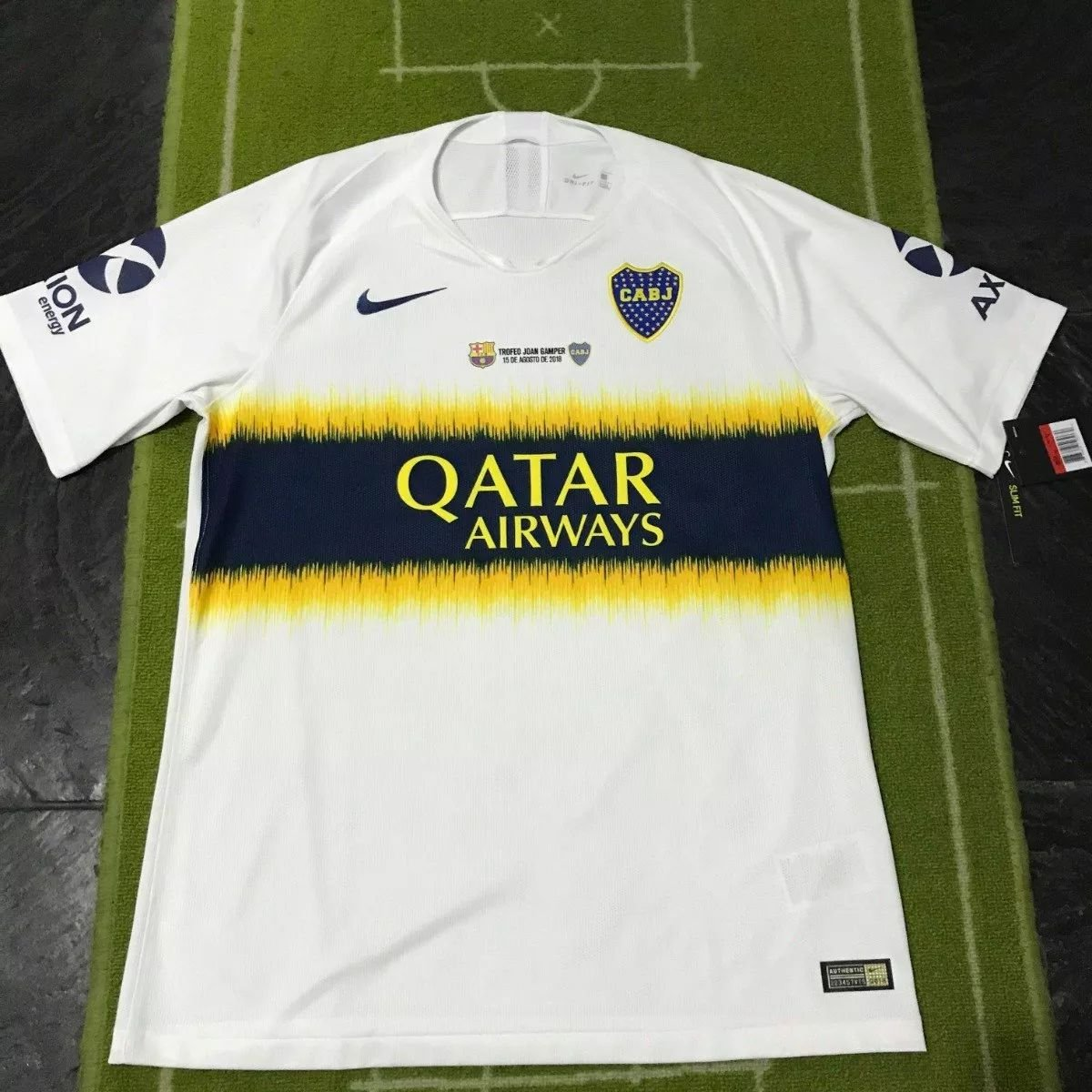 purchase cheap 97e73 a24ed Yeni Sezon Boca Juniors Away futbol forması 2018 - 2019 ...