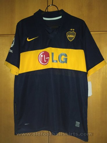 Boca Juniors Home Maillot de foot 2009 - 2010