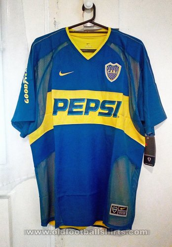 Boca Juniors Home football shirt 2004