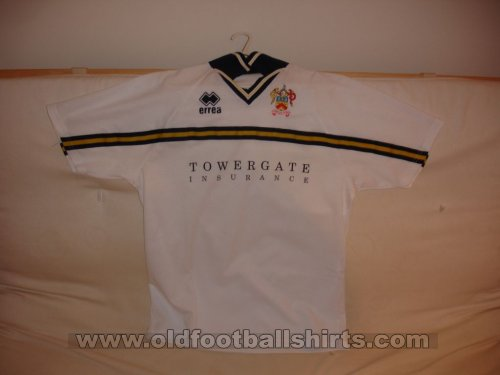 Cheltenham Town Away football shirt 1999 - 2001