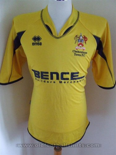 Cheltenham Town Away football shirt 2005 - 2007