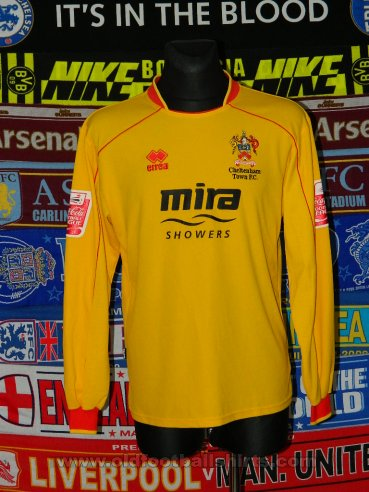 Cheltenham Town Away football shirt 2008 - 2010