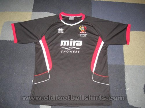 Cheltenham Town Away football shirt 2008 - 2009