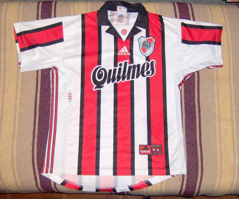 River Plate Away Maillot de foot 1996 - 1998. 889ea239f