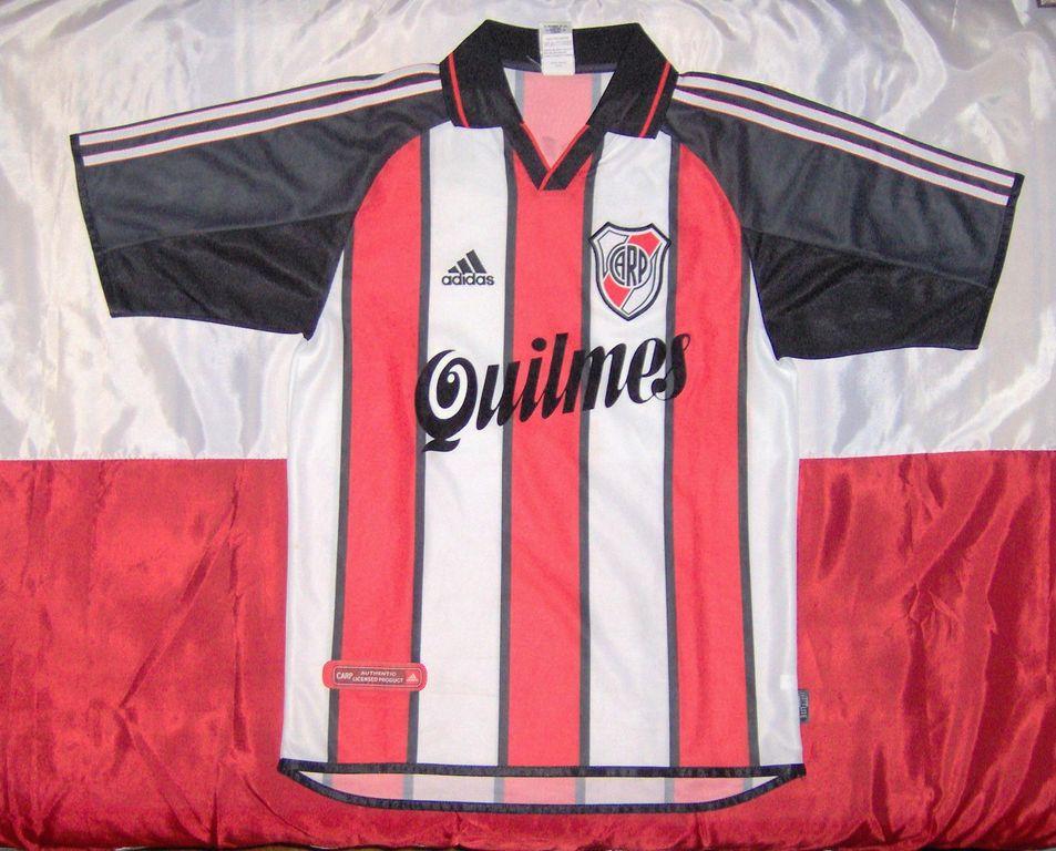 River Plate Away Maillot de foot 2000 - 2002. 88efc24ed