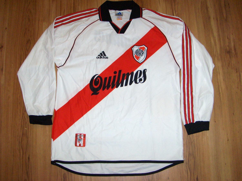 Replica River Plate Men/'s Retro Soccer Jersey 1994 Francescoli #9